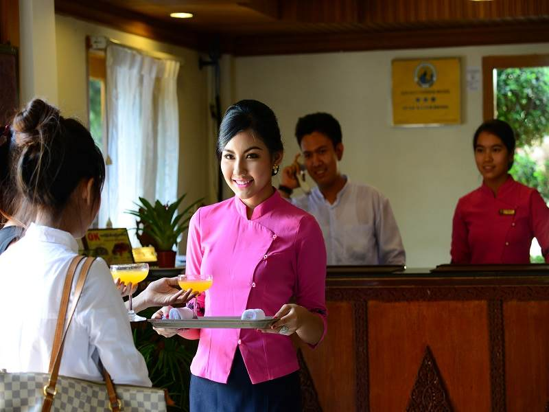 Bagan Umbra Hotel Myanmar - Reception